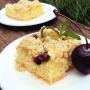 Crumble Cake de Cereza y Kiwi - Paso 1 de la receta