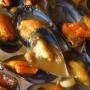 Mejillones en salsa - Paso 4 de la receta