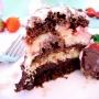 Bizcocho Chocorango (chocolate + fresa) - Paso 1 de la receta