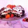 Bizcocho Chocorango (chocolate + fresa) - Paso 2 de la receta