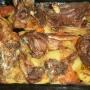 Cordero al horno con patatinos - Paso 4 de la receta