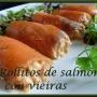 rollitos de salmón con vieiras - Paso 2 de la receta