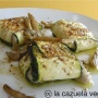 Raviolis de calabacín con pesto de orégano - Paso 1 de la receta