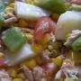 ensaladilla templada con salsa de zanahoria - Paso 4 de la receta