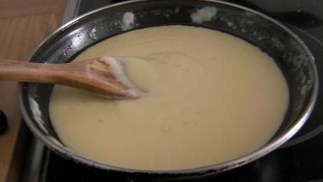 bechamel de queso de mahón