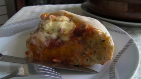 pizzoleta o pizza a la cazuela