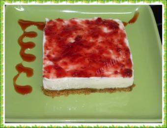 tarta facil de  queso  philadelphia