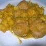 Albóndigas de pavo en salsa de pimientos - Paso 12 de la receta