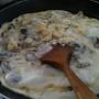 Raviolis a los 5 quesos con setas - Paso 2 de la receta
