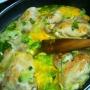Pollo con crema a la naranja - Paso 1 de la receta