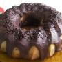 Bizcocho con fondue de chocolate - Paso 9 de la receta