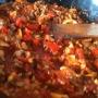 Pasta (Espagueti) con carne, huevo y verduras - Paso 4 de la receta