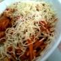 Pasta (Espagueti) con carne, huevo y verduras - Paso 5 de la receta