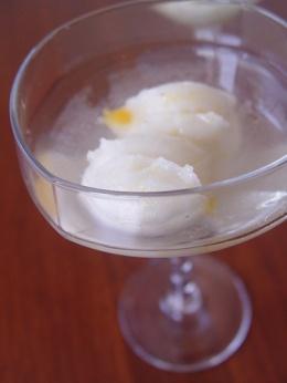 Sorbete rápido de limón (Thermomix)