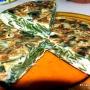Tortilla con mondas de calabacín - Paso 1 de la receta
