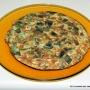 Tortilla con mondas de calabacín - Paso 2 de la receta