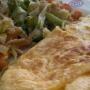 tortilla francesa con verduras - Paso 4 de la receta