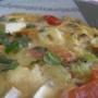 frittata de tomate y queso con albahaca - Paso 5 de la receta