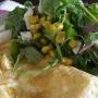Tortilla francesa con ensalada - Paso 3 de la receta