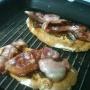 Tapa de bacon, queso y cebolla caramelizada - Paso 4 de la receta