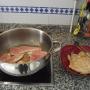 RECETA RÁPIDA DE POLLO CON CHAMPIÑONES - Paso 1 de la receta