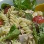 ensalada con pollo asado y vinagreta philadelphia - Paso 1 de la receta