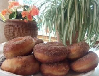 Mis primeros Donut caseros.