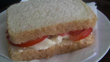 sandwich de crema de huevo