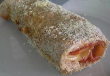 Canelones rápidos con pan de molde