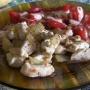pollo encebollado con sandía tostada - Paso 7 de la receta